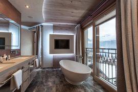 Alpin Lodge Suite - Badezimmer