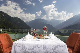 Panorama Dinner, Atemberaubend, Zillertal, Finkenberg, Stock