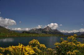 Berglandschaft in Warth am Arlberg - Wellnesshotel Warther Hof