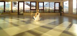 Fitness-Meditationsraum im Wellnesshotel Warther Hof