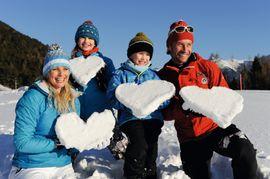 Familien-Winterspaß