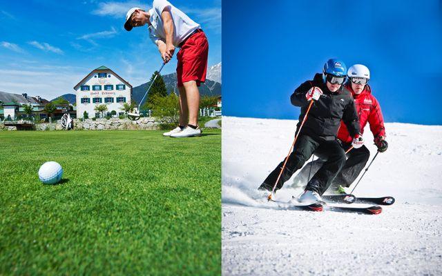 Golf- & Ski mit Hansi 1/1