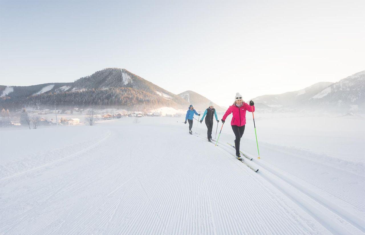 Langlaufen bei Fuschl am See - Ebner´s Waldhof am See