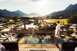Genießen Sie einen traumhaften Ausblick über das schöne Tannheimer Tal