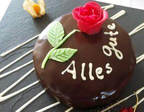 Um pequeno bolo para ocasioes especiais
