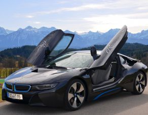 "Auto d'epoca BMW ""Barockengel"""