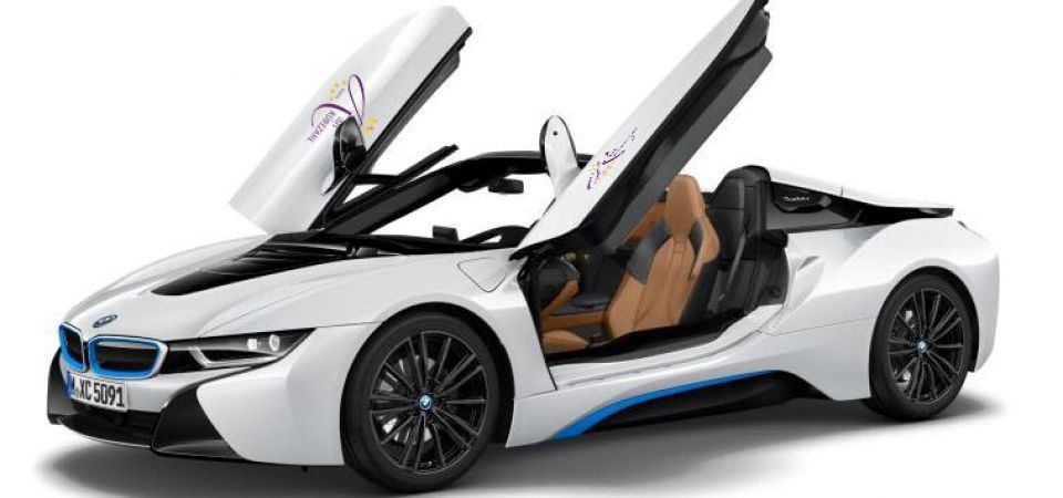 BMW i8 Experience Package