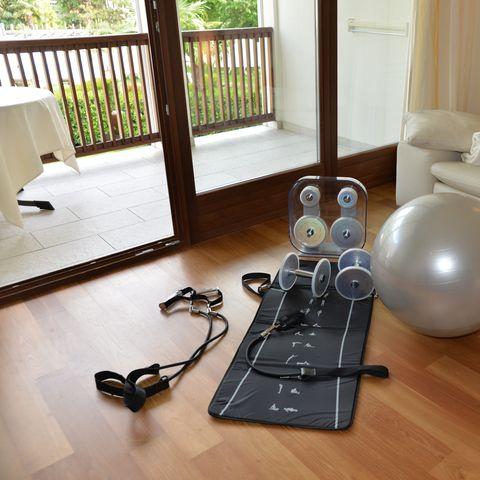Fitness in camera