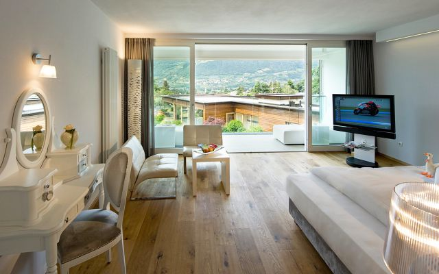 Suite panoramique de luxe