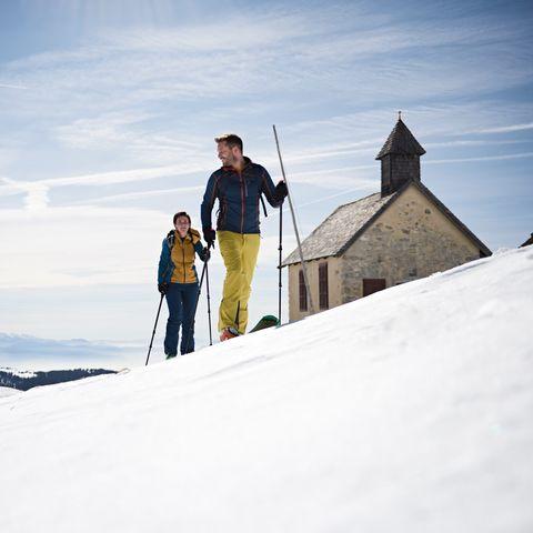 Skiing fun an spring sunshine