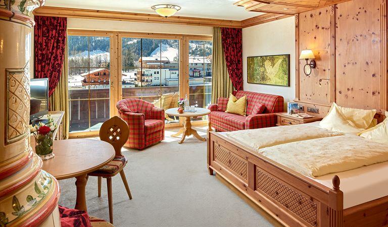 Hotel Zimmer: Juniorsuite Adlerhorst