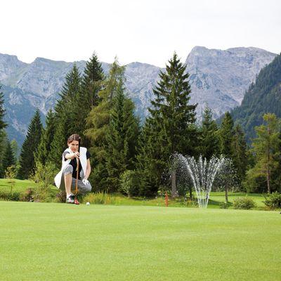 Offre: Séjour golf avec la carte Golf-AlpinCard - Das Karwendel - Ihr Wellness Zuhause am Achensee