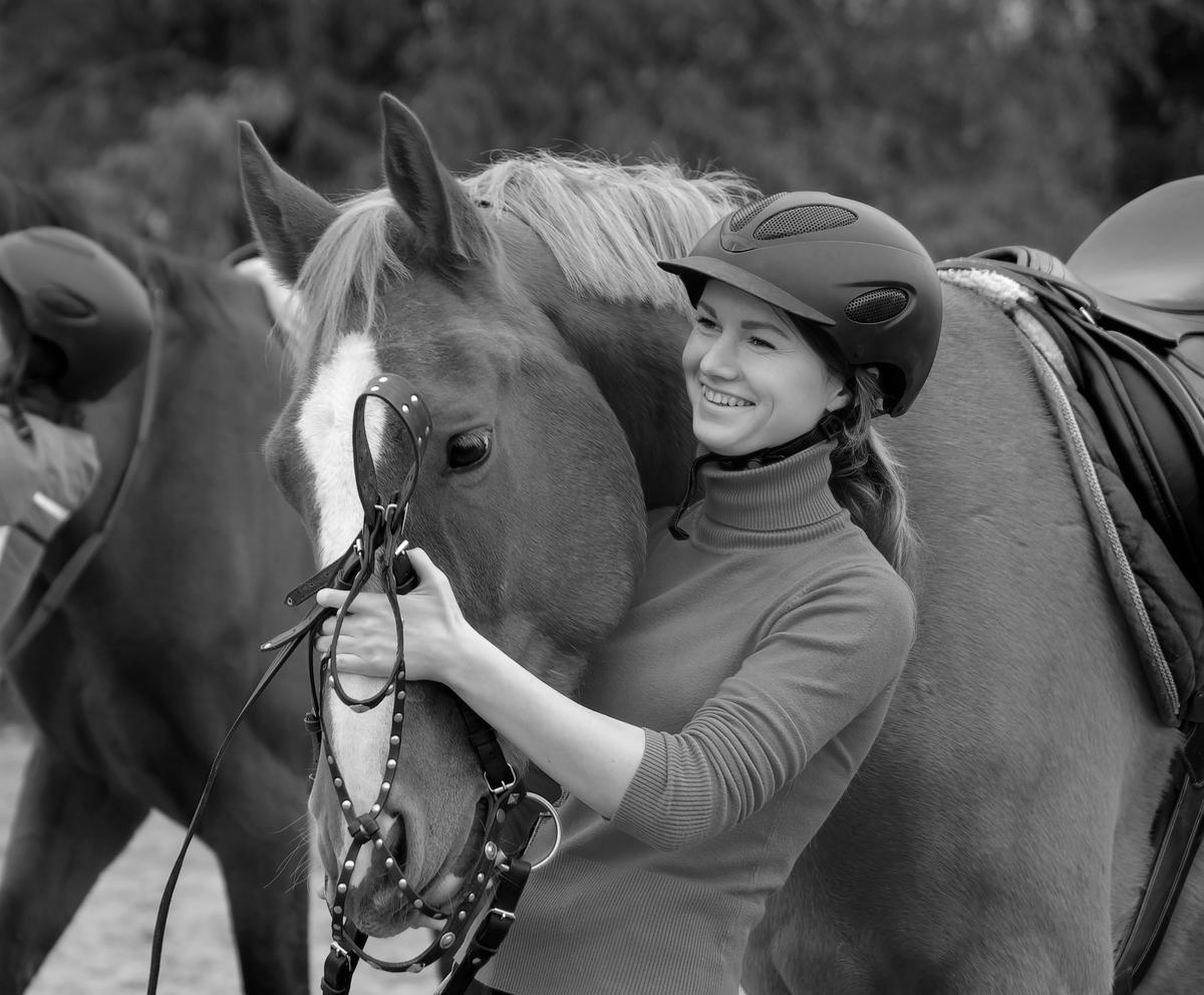 Pferdeerlebnis mit Eva