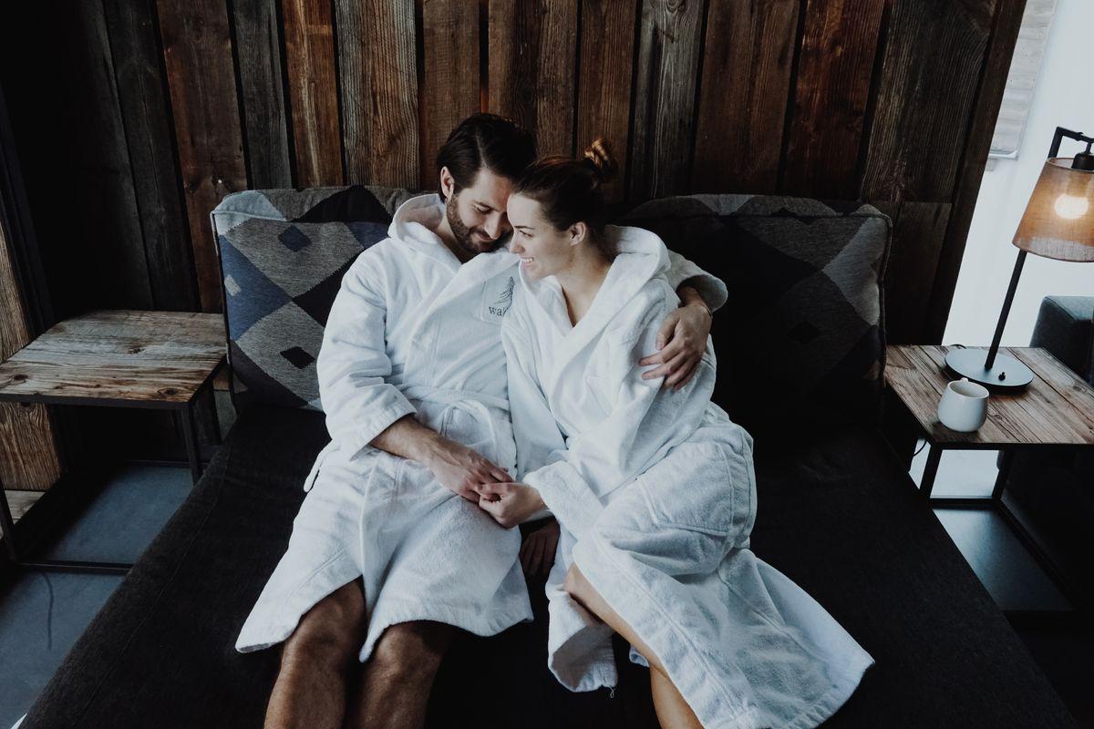 Romantische Saunazeit