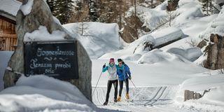 Cross country ski week in the Ahrntal Valley