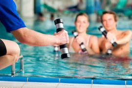 Aqua Gym | Alpenpalace Luxury Hideaway & Spa Retreat