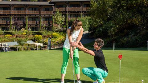 Golf group lesson