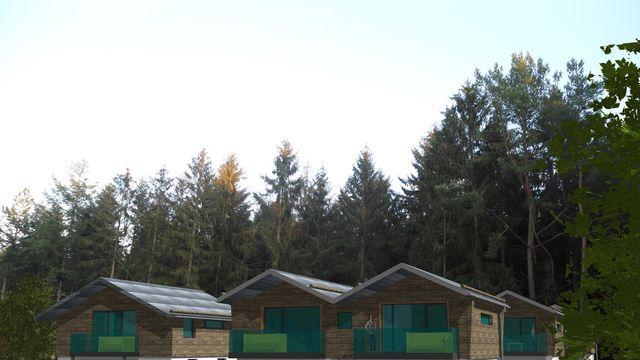 Bergchalet inklusive Hotelleistungen