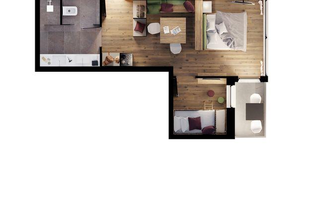"""""""40er"""" FamilySuite Panorama image 5 - Mia Alpina"""