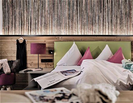 "Hotel Zimmer: ""60er"" FamilySuite Wellness - Mia Alpina"