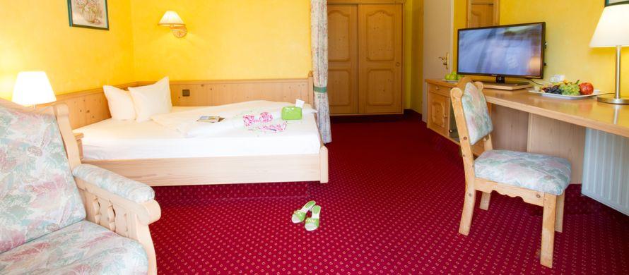 "Chambre simple ""Wachtfels"" - PFALZBLICK WALD SPA RESORT"