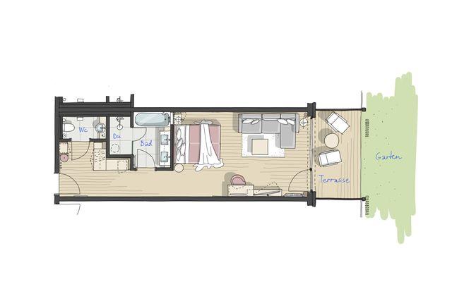 IM BAU: Doppelzimmer Lindelbrunn - PFALZBLICK WALD SPA RESORT
