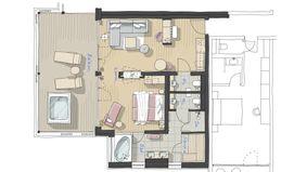 IM BAU: Spa-Suite Römerfels 2/2 - PFALZBLICK WALD SPA RESORT