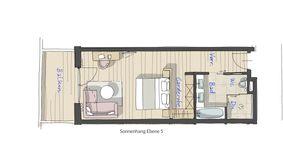 Doppelzimmer Drachenfels 2/5 - PFALZBLICK WALD SPA RESORT