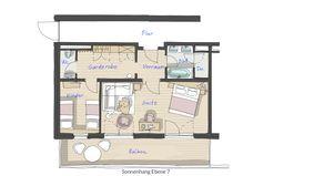 Suite familiale Lämmerfels 2/5 - PFALZBLICK WALD SPA RESORT