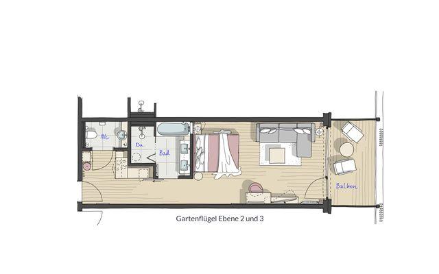"Standard Double Room ""Lindelbrunn"" - PFALZBLICK WALD SPA RESORT"