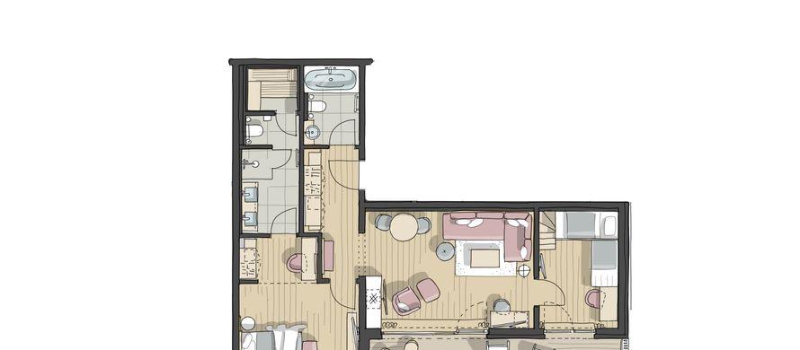 IM BAU: Family-Spa-Suite Römerfels - PFALZBLICK WALD SPA RESORT