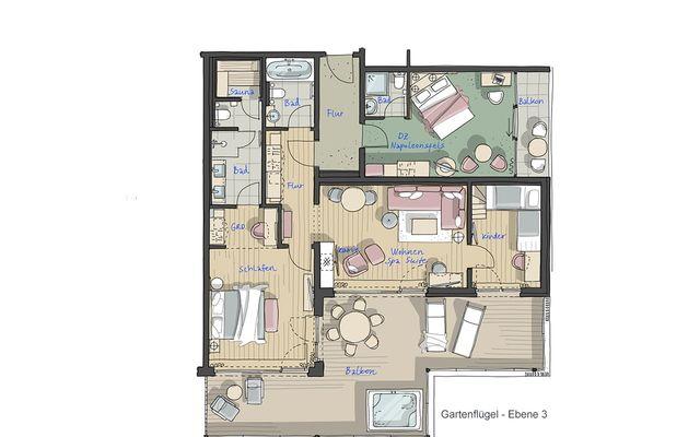 IM BAU: Family Spa Suite PLUS - PFALZBLICK WALD SPA RESORT