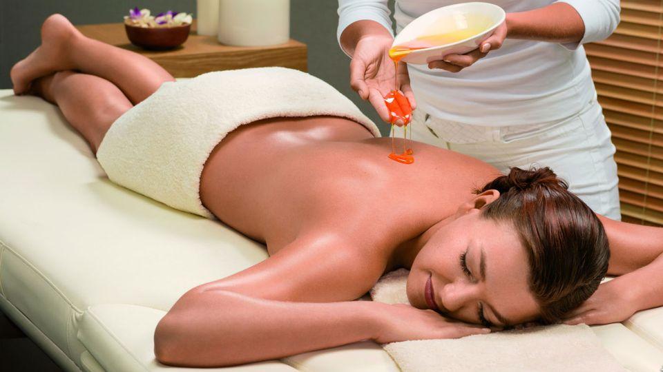 """""""Equilibre harmonieux"""" – Massage aux miel"""