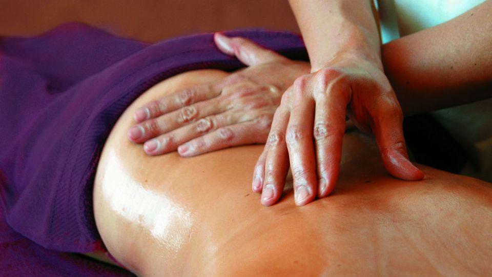 """Teilkörper-Massage"" 25min."