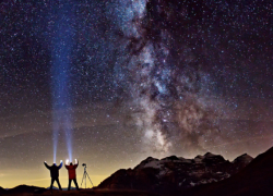 Berge unter Sternen 22.-26.3.2020