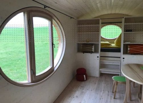 Biohotel Amvieh Theater Mobilehome Wolpi (4/5) - AmVieh-Theater