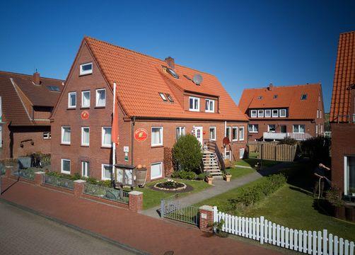 Biohotel AnNatur: Außenansicht - Haus AnNatur, Juist, Niedersachsen, Deutschland