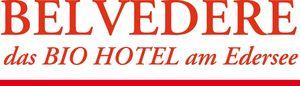 Belvedere, das BIO Hotel & SuiteHotel am Edersee - Logo