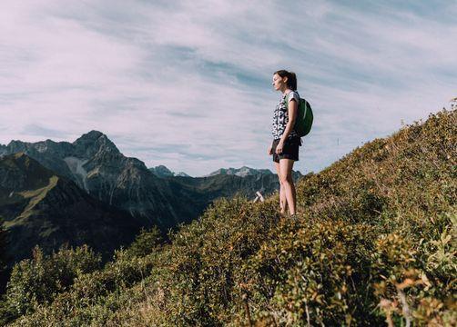 Bohotel Chesa Valisa Hirschegg Wandern - Das Naturhotel Chesa Valisa