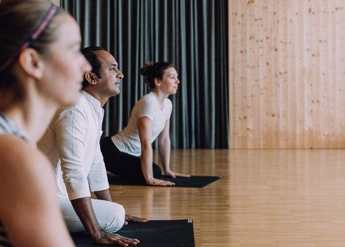 Bohotel Chesa Valisa Hirschegg Yoga - Das Naturhotel Chesa Valisa
