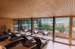 Biohotel Chesa Valisa: Ruheraum - Das Naturhotel Chesa Valisa, Hirschegg/Kleinwalsertal, Vorarlberg, Österreich
