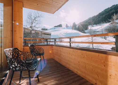 Biohotel Chesa Valisa Hirschegg Zimmer Ifen Komfort (4/7) - Das Naturhotel Chesa Valisa