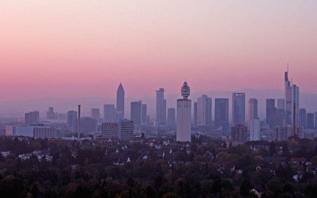 Biohotel Villa Orange: Skyline Frankfurt
