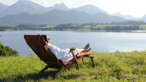 Biohotel Eggensberger Urlaub Auszeit Allgäu Sommer