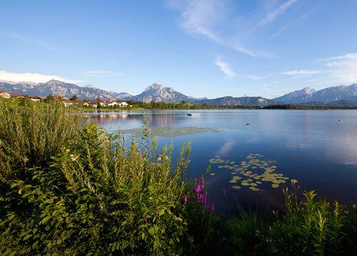 Biohotel Eggensberger: Einfach herrlich – See, Berge und Königsschlösser - Biohotel Eggensberger, Füssen - Hopfen am See, Allgäu, Bayern, Deutschland