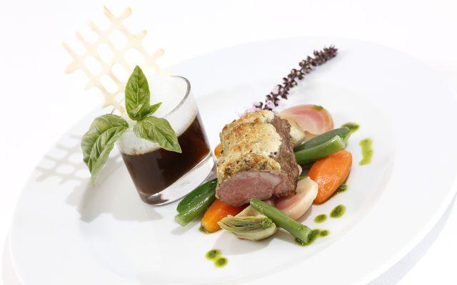 Biohotel theiner's garten: cucina