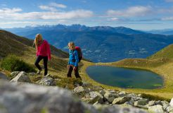Tauber's Bio-Vitalhotel: Wanderhotel in Südtirol - Tauber's Bio-Wander-Vitalhotel, St. Sigmund, Trentino-Südtirol, Italien