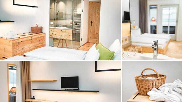 Doppelzimmer mit Balkon und seiltichem Seeblick Nr. 6