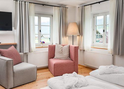Biohotel Gralhof Suite mit Seeblick (1/4) - Biohotel Gralhof