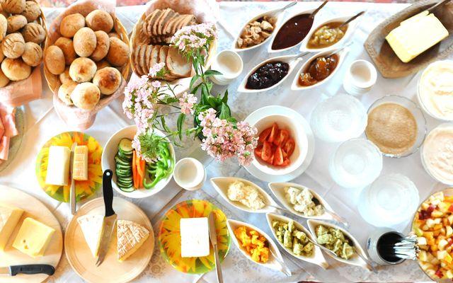 Biohotel Sommerau: Frühstücksbuffet
